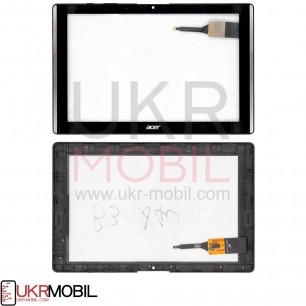 Сенсор (тачскрин) Acer Iconia One 10 B3-A40, Black