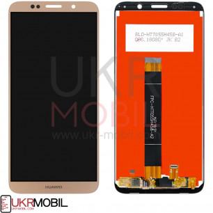 Дисплей Huawei Y5 2018 (DRA-L21), Y5 Prime 2018 (DRA-L22), Honor 7A (DUA-L22), Honor 7S, Honor 7 Play, с тачскрином, High Copy, Gold
