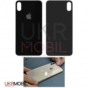 Задняя крышка Apple iPhone XS, для замены без разборки корпуса, Black