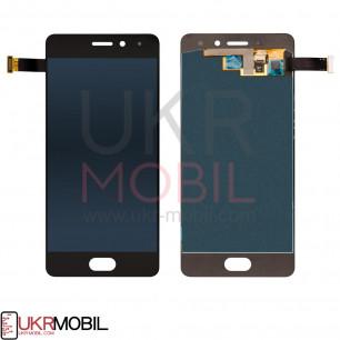 Дисплей Meizu Pro 7 M792, с тачскрином, Original PRC, Black