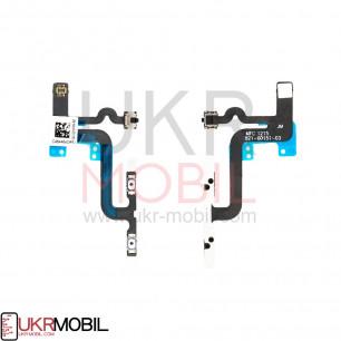 Шлейф Apple iPhone 6S Plus, регулировки громкости, беззвучного режима, Original PRC