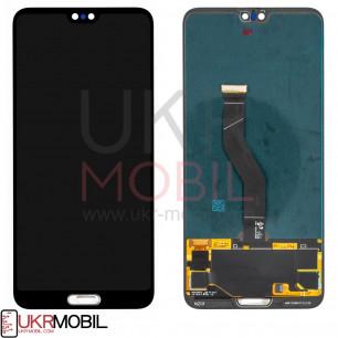 Дисплей Huawei P20 Pro (CLT-L29, CLT-L09), с тачскрином, Original PRC, Black