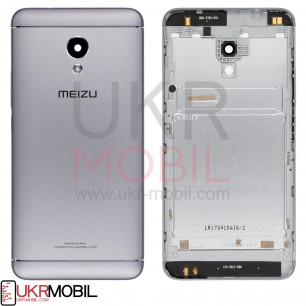 Задняя крышка Meizu M5s M612H, High Copy, Black