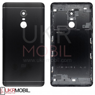 Задняя крышка Xiaomi Redmi Note 4 Global, Redmi Note 4X Snapdragon, High Copy, Black