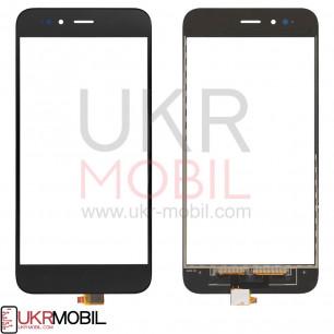 Сенсор (тачскрин) Xiaomi Mi A1, High Copy, Black