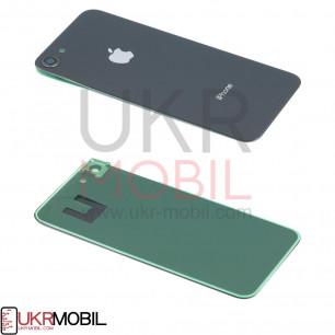 Задняя крышка Apple iPhone 8, с стеклом камеры, Black
