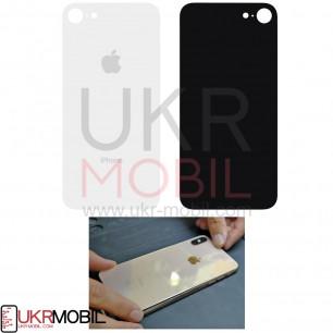 Задняя крышка Apple iPhone 8, большой вырез под камеру, White