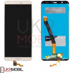 Дисплей Huawei P Smart (FIG-LX1, FIG-L21, FIG-L31, FIG-LA1), Enjoy 7s, с тачскрином, High Copy, Gold