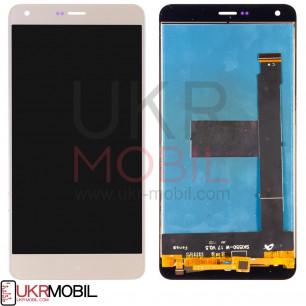 Дисплей Prestigio PSP 7551 Grace S7 LTE, с тачскрином, Gold
