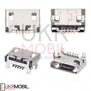Коннектор зарядки Lenovo A3000, A3300, A3500, A5000, A7000, A10-30, A10-70 (A7600), A7-50, 5 pin, micro-USB тип-B