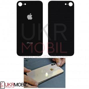 Задняя крышка Apple iPhone 8, большой вырез под камеру, Black