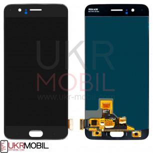 Дисплей OnePlus 5 (A5000), с тачскрином, Black