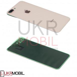 Задняя крышка Apple iPhone 8 Plus, с стеклом камеры, Gold