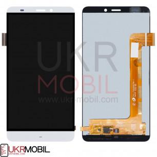 Дисплей Prestigio Grace S5 LTE PSP 5551 Duo, с тачскрином, White