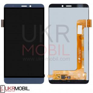 Дисплей Prestigio Grace S5 LTE PSP 5551 Duo, с тачскрином, Blue