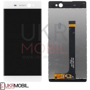Дисплей Sony F3212 Xperia XA Ultra Dual, F3215 Xperia XA Ultra Dual, F3216 Xperia XA Ultra Dual, с тачскрином, White