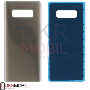 Задняя крышка Samsung N950 Galaxy Note 8, Gold