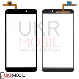 Сенсор (тачскрин) Alcatel 6045Y One Touch Idol 3, Black