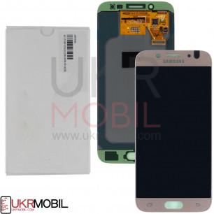 Дисплей Samsung J530 Galaxy J5 Pro 2017 GH97-20738A (SERVICE PACK ORIGINAL) с тачскрином Gold