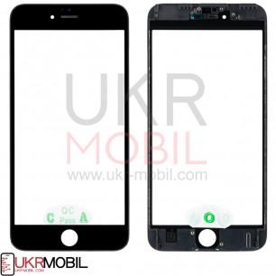 Стекло дисплея с рамкой и пленкой OCA Apple iPhone 6S Plus, Original, Black