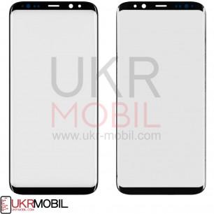 Стекло дисплея Samsung G955 Galaxy S8 Plus, Original PRC, Black