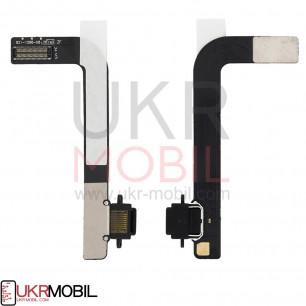 Шлейф Apple iPad 4 (A1458, A1459, A1460) коннектор зарядки, с компонентами