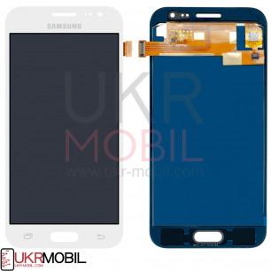 Дисплей Samsung J200, J200H Galaxy J2 duos, TFT (подсветка - original), с тачскрином, White