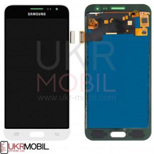 Дисплей Samsung J320 Galaxy J3 2016, с тачскрином, TFT (с регулируемой подсветкой), White