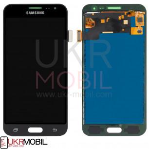 Дисплей Samsung J320 Galaxy J3 2016, с тачскрином, TFT (с регулируемой подсветкой), Black