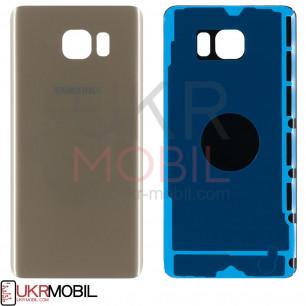 Корпус Samsung N920 Galaxy Note 5 задняя крышка (high copy) Gold