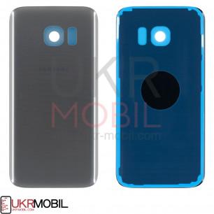 Задняя крышка Samsung G930 Galaxy S7, Original PRC, Silver