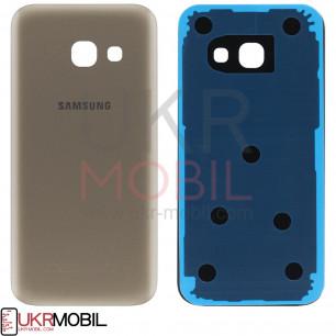 Задняя крышка Samsung A320 Galaxy A3 2017, Gold