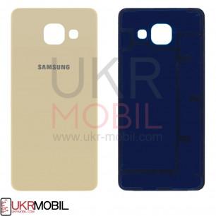 Задняя крышка Samsung A310 Galaxy A3 2016, Original, Gold