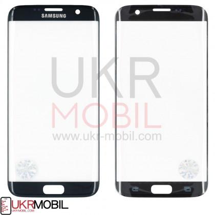 Стекло дисплея Samsung G935 Galaxy S7 Edge, Original, Black Onyx - ukr-mobil.com