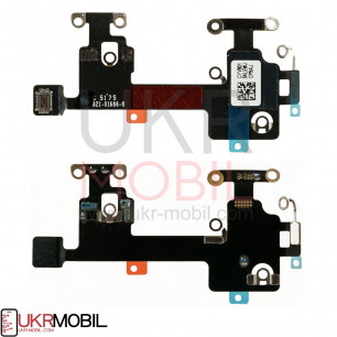 Шлейф Apple iPhone X, Wi-Fi антенны, с компонентами, Original PRC