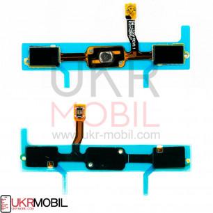 Шлейф Samsung J320 Galaxy J3 2016, кнопки меню, коннектора наушников, с компонентами