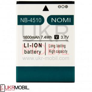 Акумулятор Nomi i4510 NB-4510 (1600mAh)