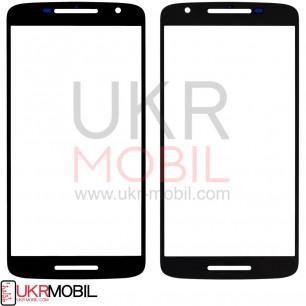Стекло дисплея Motorola Moto X Play XT1540, Black