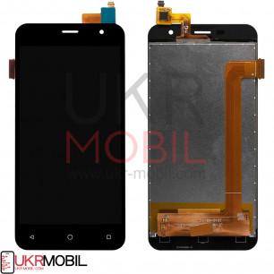 Дисплей Prestigio MultiPhone 3512 Muze B3, с тачскрином, Black