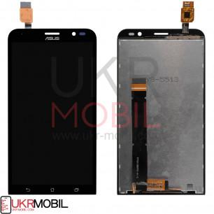 Дисплей Asus ZenFone Go ZB551KL, с тачскрином, Black