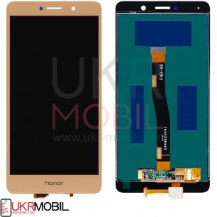 Дисплей Huawei GR5 2017 (BLN-L21), Honor 6X, Mate 9 Lite, с тачскрином, High Copy, Gold