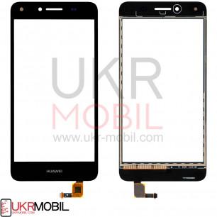 Сенсор (тачскрин) Huawei Y5 II (CUN-U29, CUN-L21), Honor 5, Honor Play 5, Black