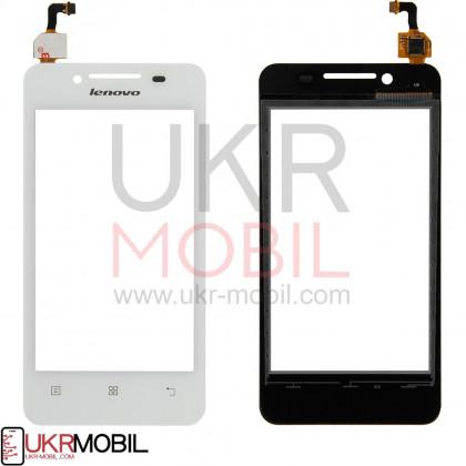 Сенсор (тачскрин) Lenovo A319 White - ukr-mobil.com