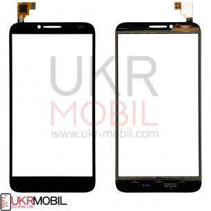 Сенсор (тачскрин) Alcatel One Touch Idol 2 6037, Black