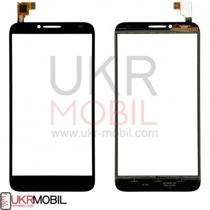 Сенсор (тачскрин) Alcatel One Touch Idol 2 6037, Black - ukr-mobil.com