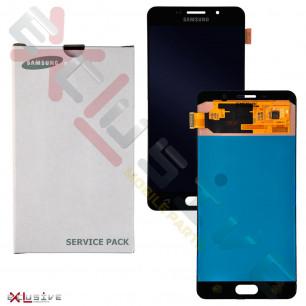 Дисплей Samsung A710H Galaxy A7 (2016) (Super AMOLED) (Service Pack Original) с тачскрином Black