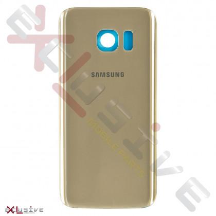 Задняя крышка Samsung G930 Galaxy S7, Original PRC, Gold, фото № 1 - ukr-mobil.com