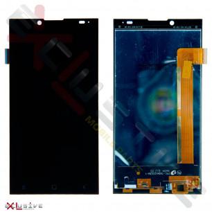 Дисплей Prestigio Grace Q5 PSP 5506, с тачскрином, Black