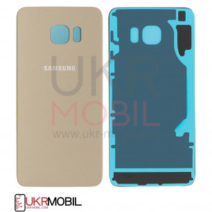 Задняя крышка Samsung G928 Galaxy S6 Edge Plus, Original PRC, Gold