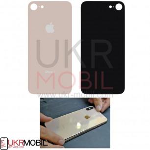 Задняя крышка Apple iPhone 8, большой вырез под камеру, Gold